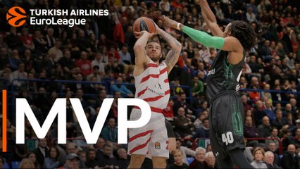 MVP for February: Mike James, AX Armani Exchange Olimpia Milan