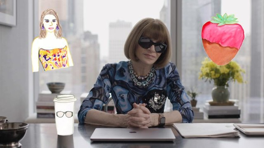 Anna Wintour Talks the Kardashians, Dressing for an Interview, and How Not to Wear Leggings