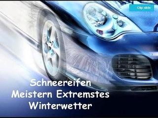 Schneereifen Meistern Extremstes Winterwetter