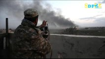 Syria rebels slow down battle against ISIL to protect civilians