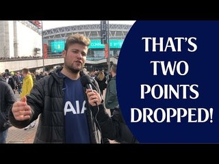 Tottenham 1 Arsenal 1 | That's Two Points Dropped | Fan Cam
