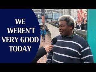 Tottenham 1 Arsenal 1 | We Weren't Very Good Today | Fan Cam