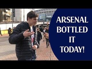 Tottenham 1 Arsenal 1 | Arsenal Bottled It Today! | Fan Cam