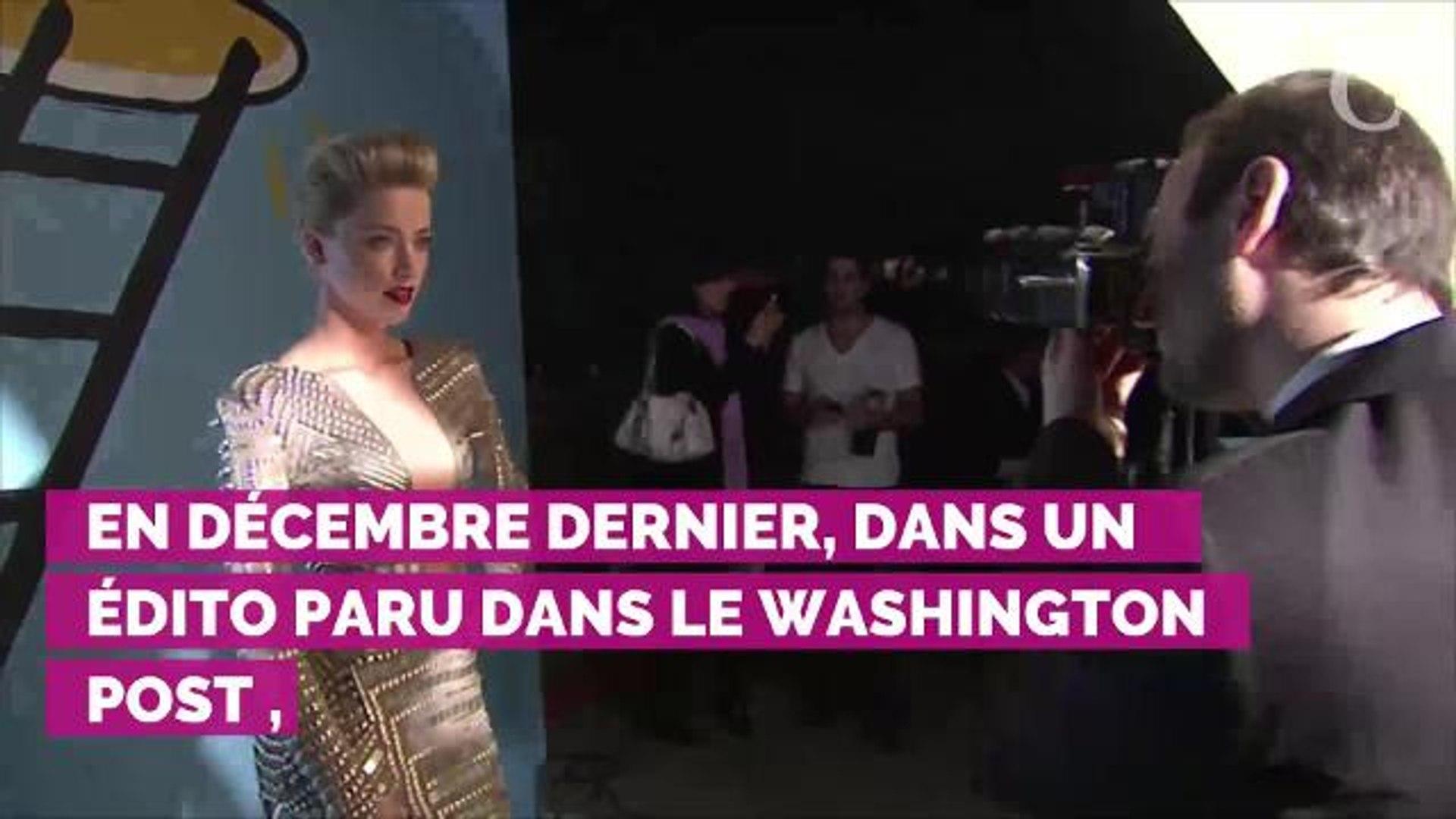 Accusée par Johnny Depp de l'avoir trompé, Amber Heard réplique :
