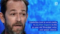 Celebrities Pay Tribute to Luke Perry