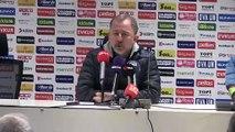 Akhisarspor-Aytemiz Alanyaspor maçının ardından - Sergen Yalçın ve Ercan Kahyaoğlu - MANİSA