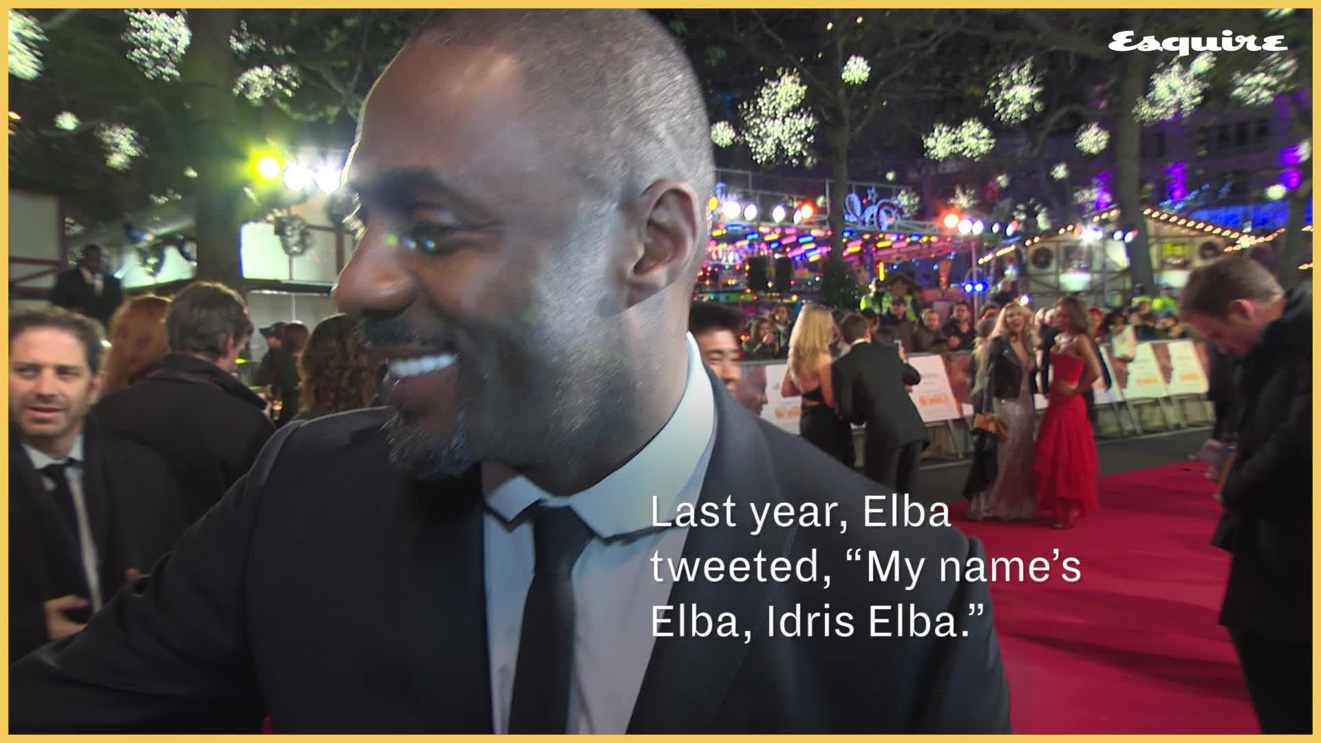 Idris Elba Just Explained Why Playing James Bond Is a Bad Idea