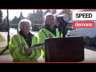 Volunteer traffic monitors caught 133K drivers speeding through a tiny village in a week | SWNS TV