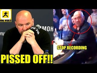 Dana White was Real Pissed after being confronted in Casino-Colby Covignton,UFC 235 W-ins,PVZ