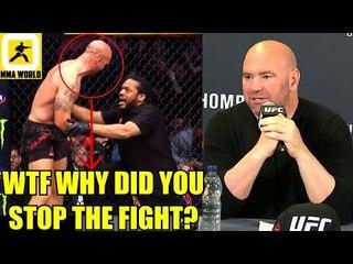 MMA Community Slam Referee Herb Dean for the stoppage in Ben Askren vs Robbie Lawler,Jon Jones,Usman