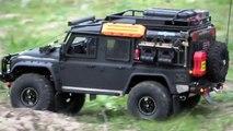 TRX-4 Landrover vitesse réel
