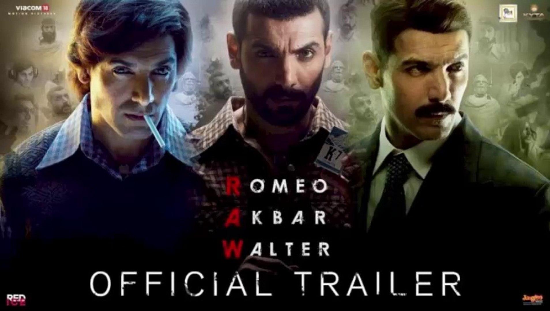 RAW - Romeo Akbar Walter | Official Trailer | John Abraham | Jackie Shroff | Mouni Roy | 5th April 2