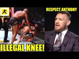MMA Community reacts to Jon Jones almost losing his belt due to Disqualification,UFC 235 Results