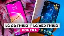 LG G8 ThinQ vs. LG V50 ThinQ: ¿Cuáles son las diferencias?