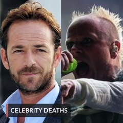 Two celebrity deaths rock the music and entertainment industry.