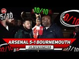 Arsenal 5-1 Bournemouth | Sokratis Should Be Our Captain! Player Ratings Ft Troopz & Turkish