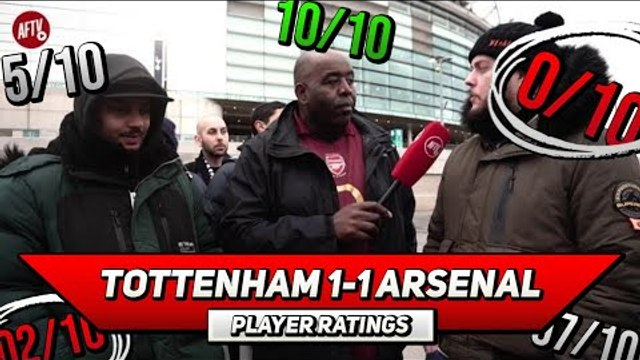 Tottenham 1-1 Arsenal Player Ratings | We Bossed Spurs ft Troopz & DT