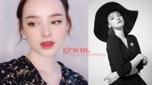 GRWM For a Photoshoot in Seoul  Vintage Vogue Inspired Makeup | Sissel AB