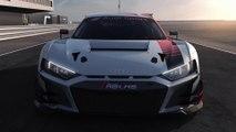 Audi R8 LMS und Audi R8 V10 performance quattro - Sicherheitskonzept und Antriebsstrang Animation