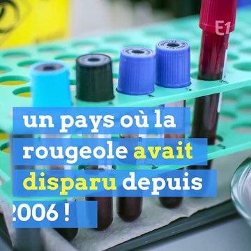 """La France, un des """"mauvais élèves"""" pour la rougeole"""