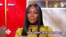 """Naomi Campbell fond en larmes sur le plateau de """"C à vous"""" en évoquant Nelson Mandela - Regardez"""