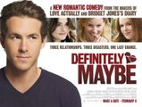 Definitely Maybe Movie (2008) Ryan Reynolds