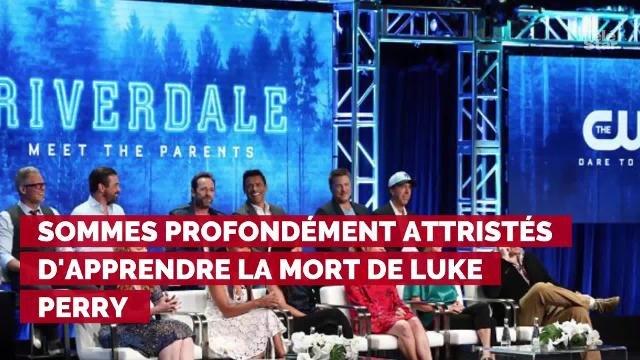 Mort de Luke Perry : le tournage de la nouvelle saison de Riverdale interrompu