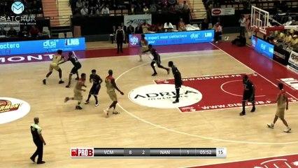 Highlights J.A.VCM / Nantes (Pro B J19)