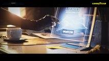 VÍDEO: Goodyear Aero, los neumáticos que también sirven de hélice a coches voladores autónomos