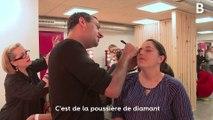 Le Secours populaire offre une séance de maquillage à des femmes précaires