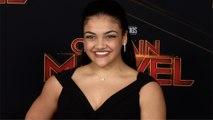 "Laurie Hernandez ""Captain Marvel"" World Premiere Red Carpet"