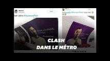 Cyprien et Squeezie s'affrontent dans le métro parisien