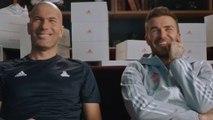 Quand Zinédine Zidane et David Beckham se réunissent pour une publicité