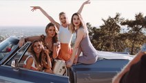 Behind the Scenes of Cosmo's Cover Shoot with 'The Hills'