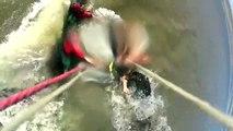 Le kitesurfeur Gustavo Cerviño attaqué par un pitbull sur la plage
