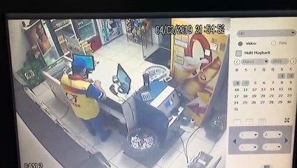 Vídeo mostra assalto em posto de combustíveis de Araçatuba (SP)