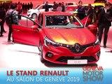 Le stand Renault en direct du salon de Genève 2019