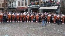 Mardi gras du Carnaval de Binche : un rondeau matinal