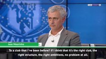 Mourinho would have no problem returning to manage former club