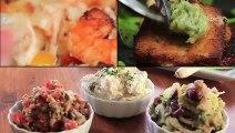 """3 وصفات أكلات بحرية""""طاجن مكرونة بالجمبري-سمك مشوي بالزبدة والثوم-3 وصفات بالرنجة"""""""