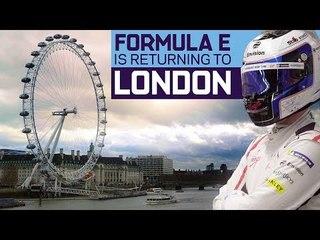 Formula E Announces World-First Indoor-Outdoor London Race!   ABB FIA Formula E Championship