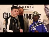 COMMONWEALTH TITLE FIGHT! - LEIGH WOOD v ABRAHAM OSEI BONSU OFFICIAL HEAD-TO-HEAD @ PRESS CONFERENCE