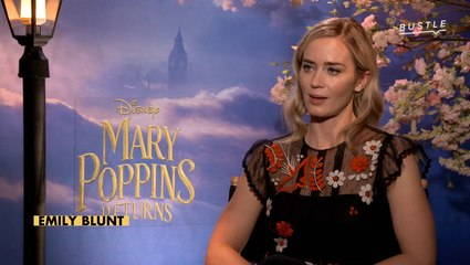 Emily Blunt On Why Mary Poppins Is So Extraordinary