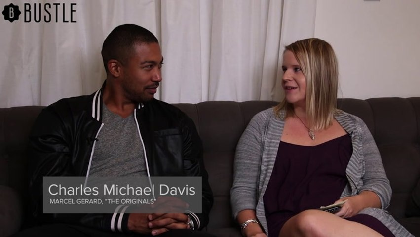 Charles Michael Davis Discusses The Originals and Some of His Favorite Television Shows