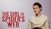 Claire Foy & Fede Alvarez on 'Spider's Web'