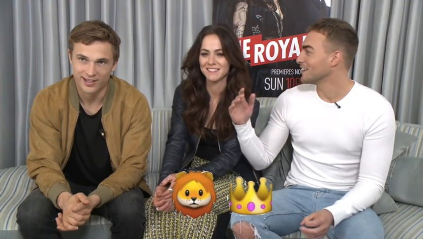 The Royals Cast Plays The Emoji Game