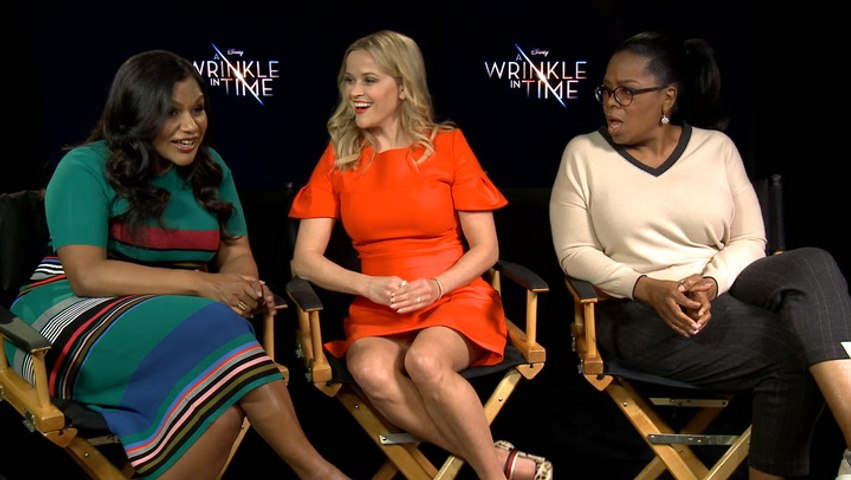 Who Me? With The Cast Of 'A Wrinkle In Time'