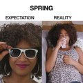 Spring: Expectations vs. Reality