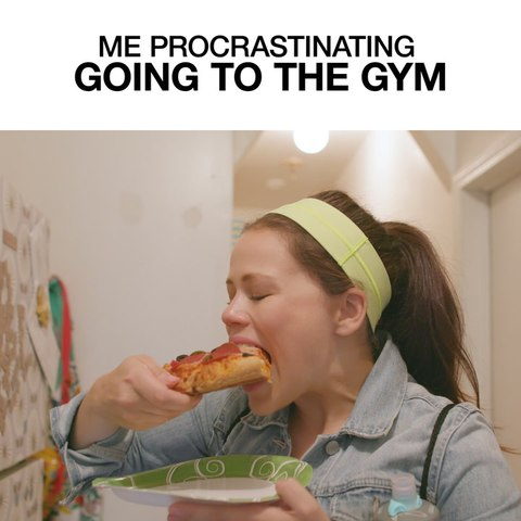 Me Procrastinating Going To The Gym