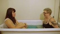 This Artist Interviews Strangers in Their Bathtubs